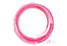 De bannerkaart van de waterplons, embleem, de cirkelring van het waterverfontwerp, I stock illustratie