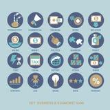De bannermalplaatje van de conceptenillustratie voor spelopslag en online winkel Stock Afbeelding