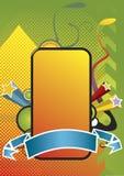 De bannerontwerp van Decorativ Royalty-vrije Stock Afbeelding