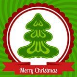De bannerontwerp van het Kerstmisweb Stock Afbeelding