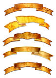 De bannerontwerpen van Grunge royalty-vrije illustratie