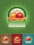 De bannerreeks van Kerstmis Royalty-vrije Stock Afbeelding