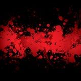 De bannerrood van het bloed royalty-vrije illustratie