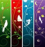 De banners van de fee Stock Afbeeldingen