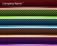 De Banners van de Kopballen van het Web Royalty-vrije Stock Afbeelding