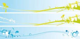 De banners van de lente Stock Foto