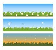 De banners van de lente Royalty-vrije Stock Foto