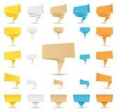 De Banners van de origami Stock Fotografie