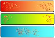 De Banners van de plaats royalty-vrije illustratie