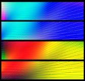 De banners van de regenboog Royalty-vrije Stock Afbeelding