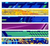 De Banners van de website Stock Foto's