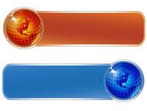 De banners van de wereld vector illustratie