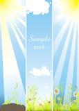 De banners van de zomer Royalty-vrije Stock Fotografie