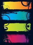 De banners van Grunge stock illustratie