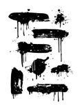 De Banners van Grunge Royalty-vrije Stock Afbeelding