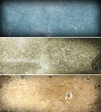 De banners van Grunge Royalty-vrije Stock Foto's
