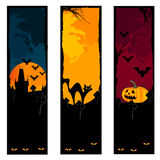 De banners van Halloween Royalty-vrije Stock Fotografie