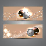 De banners van het nieuwjaar Royalty-vrije Stock Foto's