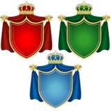 De Banners van het wapenschild Royalty-vrije Stock Afbeeldingen