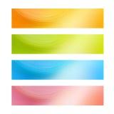 De banners van het Web Stock Afbeelding