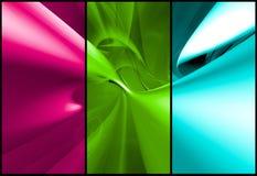 De banners van het Web Stock Fotografie