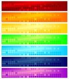 De banners van het Web Royalty-vrije Stock Foto's