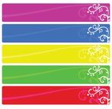 De banners van het Web Royalty-vrije Stock Afbeeldingen