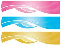 De banners van het Web Stock Afbeeldingen