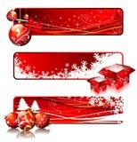 De banners van Kerstmis. vector illustratie