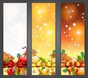 De banners van Kerstmis vector illustratie