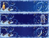 De banners van Kerstmis Stock Foto's