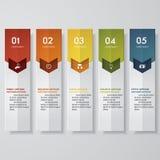 De bannersmalplaatje van het ontwerp schoon aantal Vector Stock Foto's
