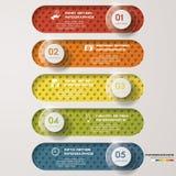 De bannersmalplaatje van het ontwerp schoon aantal Vector Stock Afbeelding