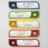 De bannersmalplaatje van het ontwerp schoon aantal Vector Stock Afbeeldingen