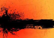 De bannervector van Grunge Stock Afbeelding