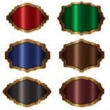 ` De bannière de ` de collection d'or de vue illustration stock
