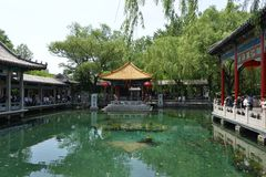 De Baotulente in Jinan Royalty-vrije Stock Foto