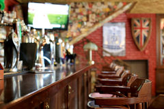 De bar van de bierbar Stock Foto's