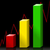 De bar van de voorraad stock illustratie