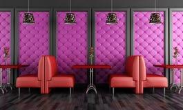 De bar van de zitkamer royalty-vrije illustratie