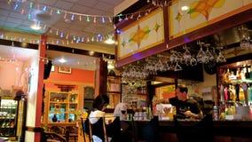 De Bar van Eastlandsushi in Vancouver Royalty-vrije Stock Fotografie