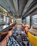 De bar van het Mexicaanse restaurant Royalty-vrije Stock Afbeelding