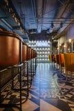 De bar van het Mexicaanse restaurant Stock Foto's