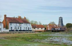 De Bar van de Langstonehaven & Oude Molen Havant, het UK stock fotografie