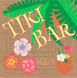 De Baraffiche van Hawaï Royalty-vrije Stock Afbeelding