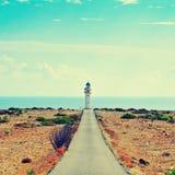 De Barbaria lointain à Formentera, Îles Baléares, Espagne Image libre de droits