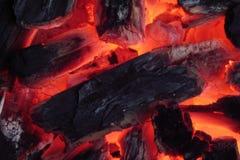 De barbecue van de brand royalty-vrije stock afbeeldingen
