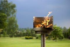 De Barbecue van de tuin Royalty-vrije Stock Afbeelding