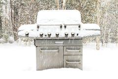 De Barbecue van de winter Stock Foto