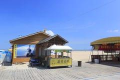 De barbecueboxen van guanyinshan openluchtrestaurant Royalty-vrije Stock Foto's